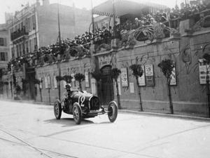 William Grover-Williams in a Bugatti 35B, in the Monaco Grand Prix, 1929