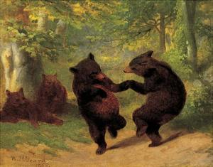 Dancing Bears by William H^ Beard