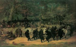 The Bear Dance by William H^ Beard