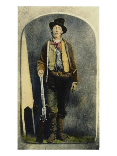William H Bonney--Giclee Print