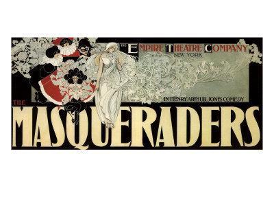 The Masqueraders, c.1894