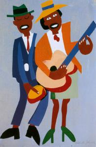 Blind Singer by William H. Johnson