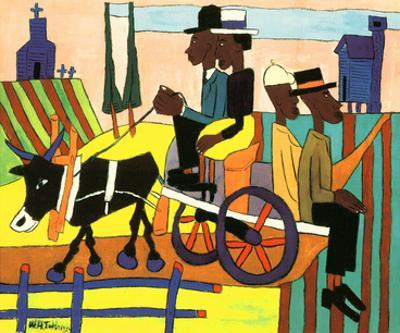 Going to Church by William H. Johnson