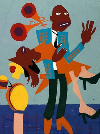 Jitterbugs (V), 1941-42 by William H. Johnson