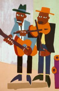 Street Musicians by William H. Johnson