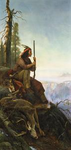 The Signal Fire, 1880 by William Hahn