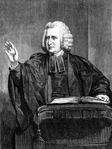 Charles Wesley, 18th Century English Preacher and Hymn Writer by William Hamilton