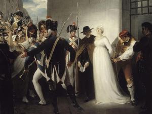 Marie-Antoinette conduite à son exécution, le 16 octobre 1793 by William Hamilton