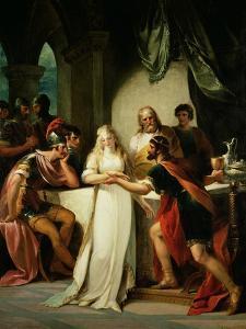 Vortigern and Rowena, 1793 by William Hamilton
