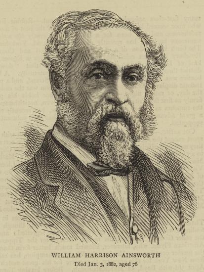 William Harrison Ainsworth--Giclee Print