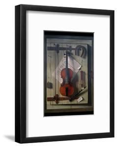 Violin and Music by William Hartnett