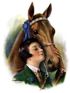 """""""Blue Ribbon Winner,""""March 19, 1927 by William Haskell Coffin"""