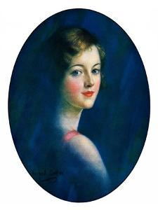 """""""Portrait of Young Woman,""""March 8, 1930 by William Haskell Coffin"""