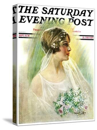"""September Bride,"" Saturday Evening Post Cover, September 25, 1926"