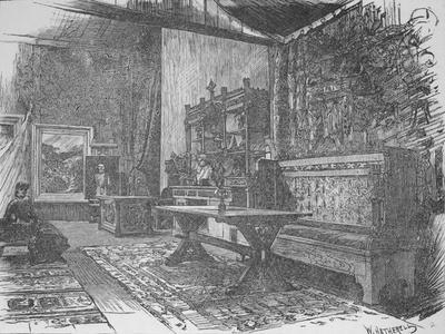 'Herkomer's Studio', 1890