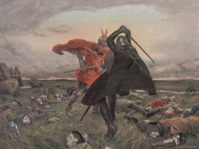 The Battle Between King Arthur and Sir Mordred
