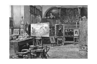 'The Studio', 1896
