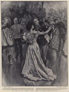 The Visit of the German Crown Prince to Vienna, the State Ball by William Hatherell