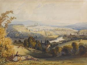 Exeter from Exwick, 1773 by William Havell
