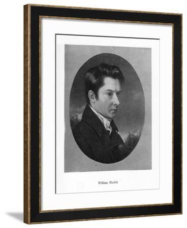 William Hazlitt, English Writer, 19th Century--Framed Giclee Print