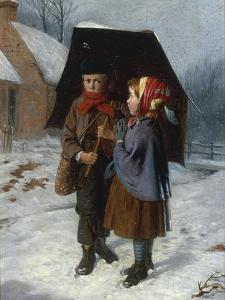 Winter: 'The Verdure of the Plain Lies Buried Deep' by William Hemsley