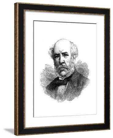 William Henry Barlow (1812-190), British Civil Engineer--Framed Giclee Print