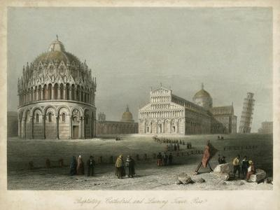 Baptistry, Cathedral &Leaning Tower