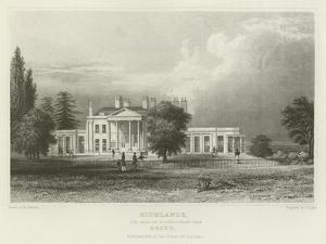 Highlands, the Seat of N Labouchere, Esquire, Essex by William Henry Bartlett