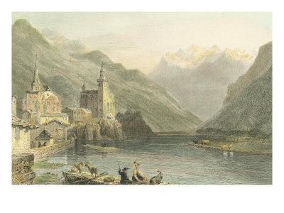 Pastoral Riverscape I