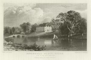 Rivenhall Place, Essex, Seat of the Reverend J Western by William Henry Bartlett