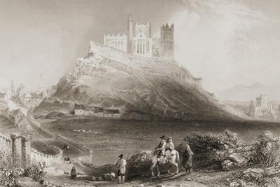 The Rock of Cashel, County Tipperary, Ireland. from 'scenery and Antiquities of Ireland' by… by William Henry Bartlett
