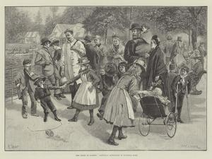 The Lungs of London, Saturday Afternoon in Victoria Park by William Henry Charles Groome