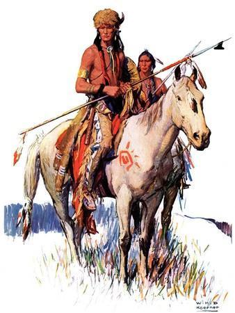 """""""Plains Indians,""""March 3, 1934"""