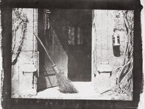 The Open Door, March, 1843 by William Henry Fox Talbot