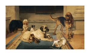 Domestic Scene by William Henry Hamilton Trood