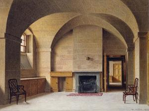 Butler's Pantry at Chatsworth House, 1827 by William Henry Hunt