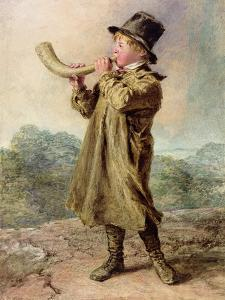 Cow Boy, 1829 by William Henry Hunt