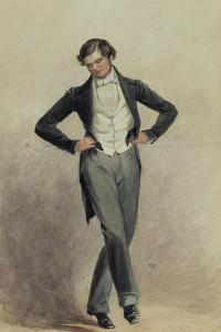 Footman by William Henry Hunt