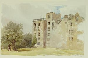 Hardwick Old Hall by William Henry Hunt