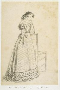 Miss Sarah Brown, Later the Wife of Sir Joseph Paxton by William Henry Hunt