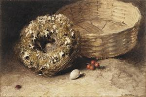 Still-Life with Basket by William Henry Hunt