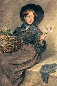 The Flower Girl, 1833 by William Henry Hunt