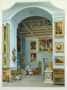 The Gallery at Chiswick House by William Henry Hunt