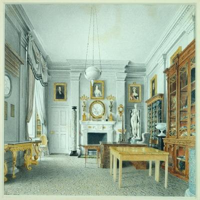 The Morning Room, Chatsworth, 1822
