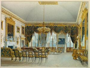 The Saloon, Devonshire House by William Henry Hunt