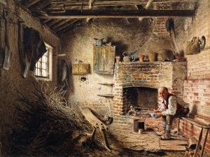 The Woodcutters Breakfast, C.1832-1834 by William Henry Hunt