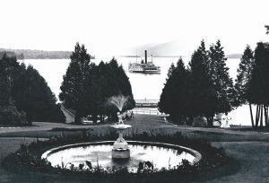 Ft. William Henry Hotel, Lake George, New York by William Henry Jackson