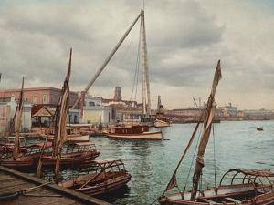 Government Wharf Havana by William Henry Jackson