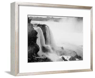 Horseshoe Falls from Goat Island, Niagara, C.1880-97