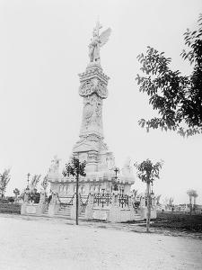 Monumento a Los Bomberos, Havana by William Henry Jackson